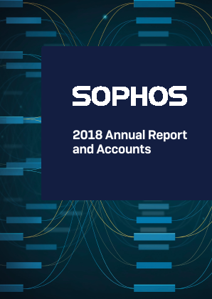 Sophos Group Plc annual report 2018