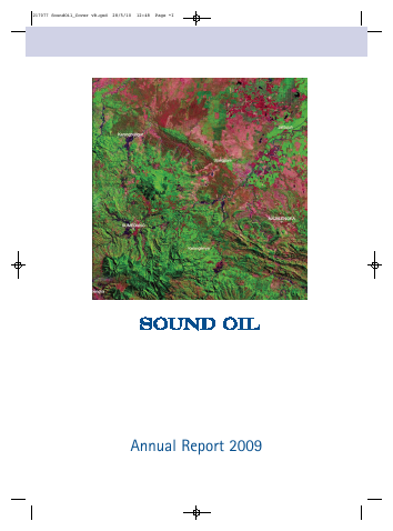 Sound Energy Plc annual report 2009