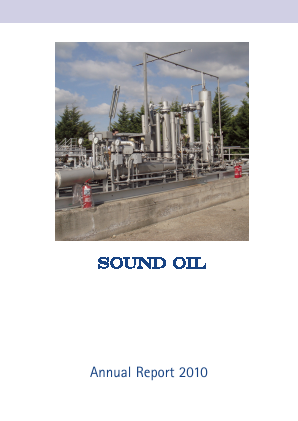 Sound Energy Plc annual report 2010