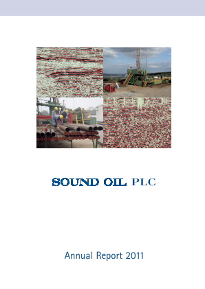 Sound Energy Plc annual report 2011