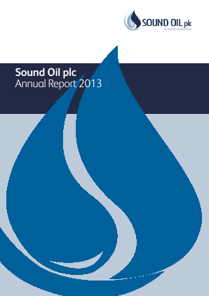 Sound Energy Plc annual report 2013