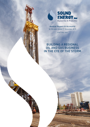 Sound Energy Plc annual report 2015