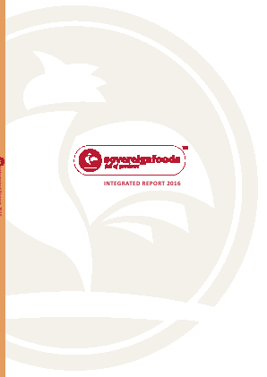 Sovereign Food Investments annual report 2016