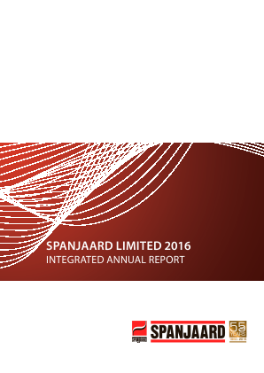 Spanjaard annual report 2016