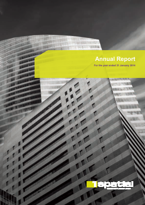 1Spatial Plc annual report 2014