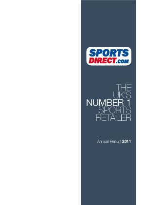 Sports Direct International Plc annual report 2011