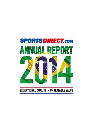 Sports Direct International Plc annual report 2014