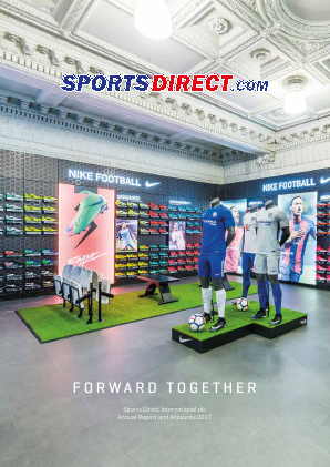 Sports Direct International Plc annual report 2017