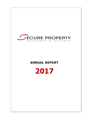Secure Property Dev & Inv Plc annual report 2017