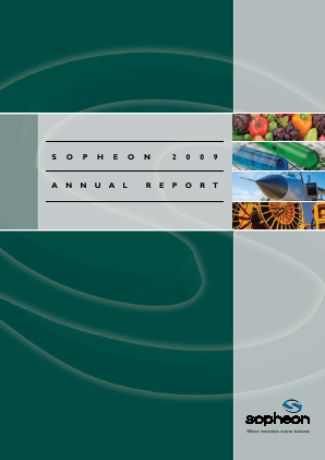 Sopheon annual report 2009