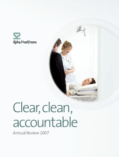 Spire Healthcare Group Plc annual report 2007