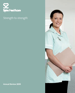 Spire Healthcare Group Plc annual report 2009