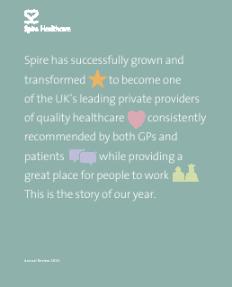Spire Healthcare Group Plc annual report 2010