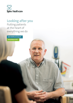 Spire Healthcare Group Plc annual report 2017