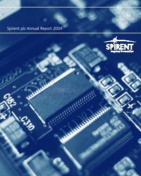 Spirent Communications annual report 2004