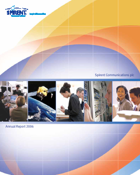 Spirent Communications annual report 2006