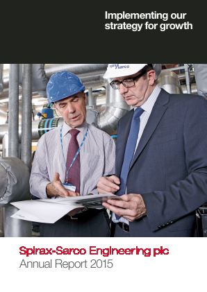 Spirax-Sarco Engineering annual report 2015
