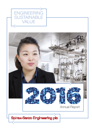 Spirax-Sarco Engineering annual report 2016
