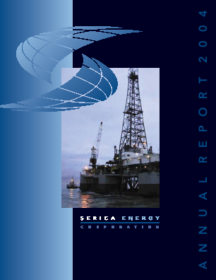 Serica Energy annual report 2004