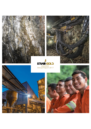 Serabi Gold Plc annual report 2017