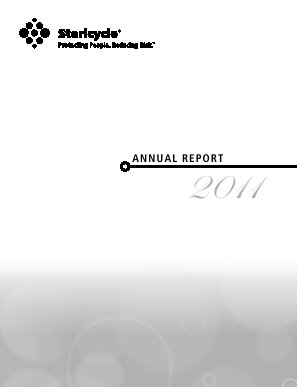 Stericycle, Inc. annual report 2011