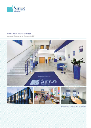 Sirius Real Estate Ld annual report 2011