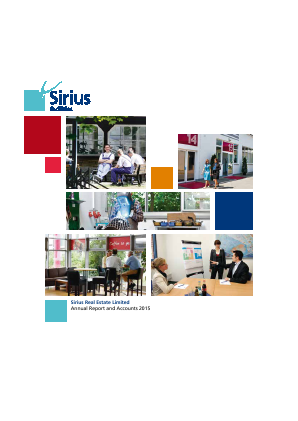 Sirius Real Estate Ld annual report 2015