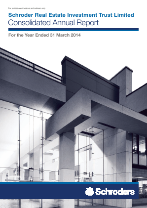 Schroder Real Estate Investment Trust Lt annual report 2014