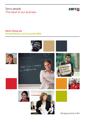 Serco Group annual report 2008