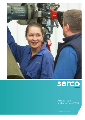 Serco Group annual report 2013