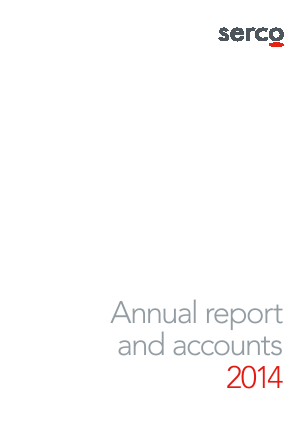 Serco Group annual report 2014