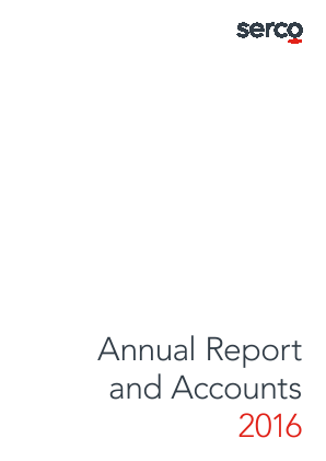 Serco Group annual report 2016
