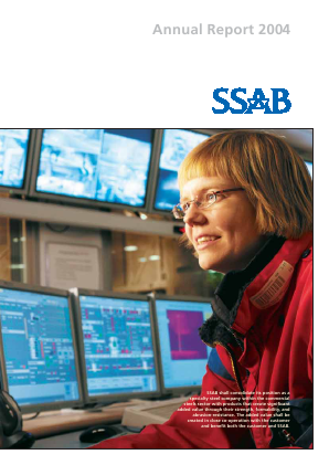 SSAB annual report 2004