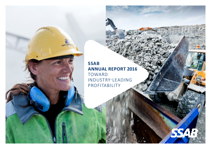 SSAB annual report 2016