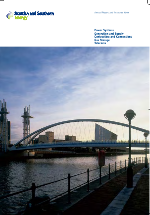 Sse Plc annual report 2004