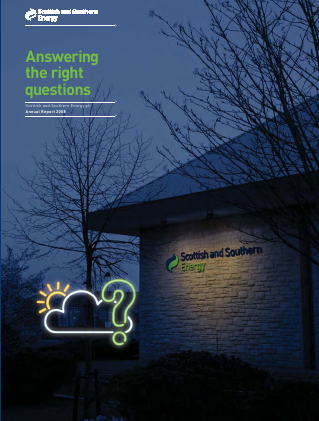 Sse Plc annual report 2008