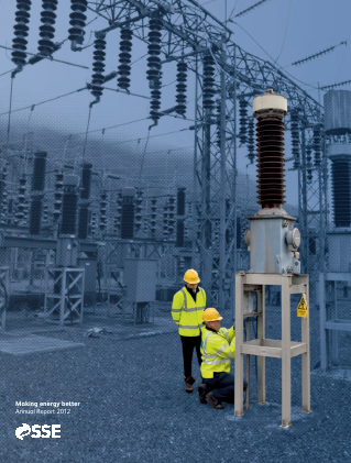 Sse Plc annual report 2012