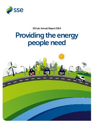Sse Plc annual report 2014