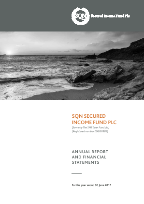 SQN Secured Income Fund annual report 2017