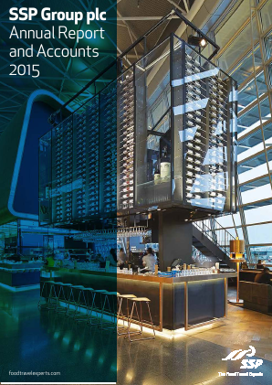 SSP Group Plc annual report 2015