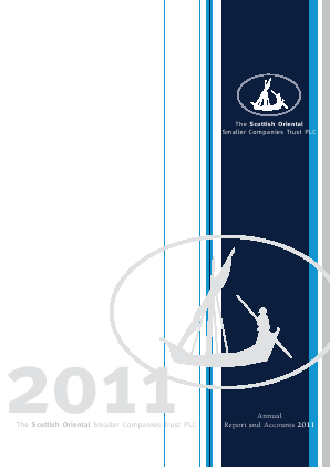 Scottish Oriental Smaller Companies Trust annual report 2011