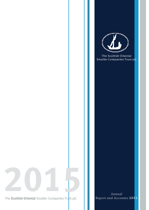 Scottish Oriental Smaller Companies Trust annual report 2015