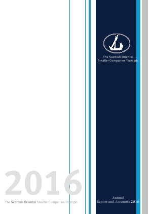 Scottish Oriental Smaller Companies Trust annual report 2016
