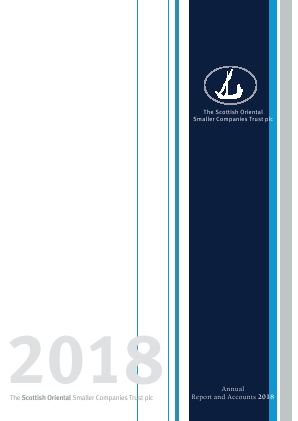 Scottish Oriental Smaller Companies Trust annual report 2018