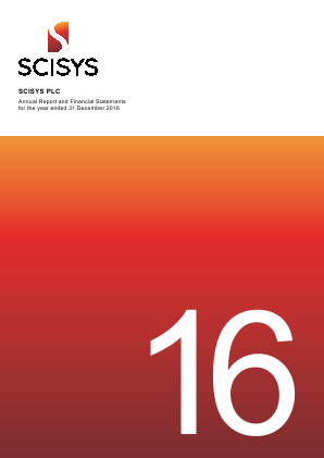 Scisys Plc annual report 2016