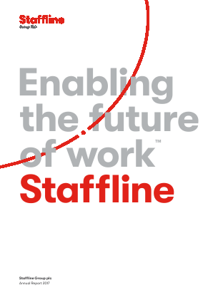 Staffline Group Plc annual report 2017