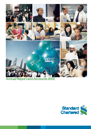 Standard Chartered annual report 2002