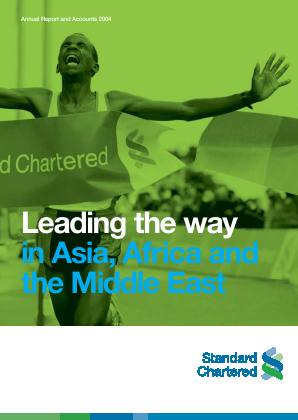Standard Chartered annual report 2004