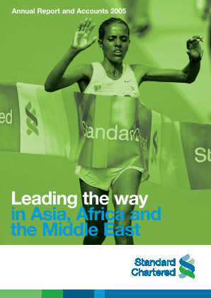 Standard Chartered annual report 2005