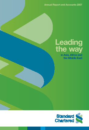 Standard Chartered annual report 2007